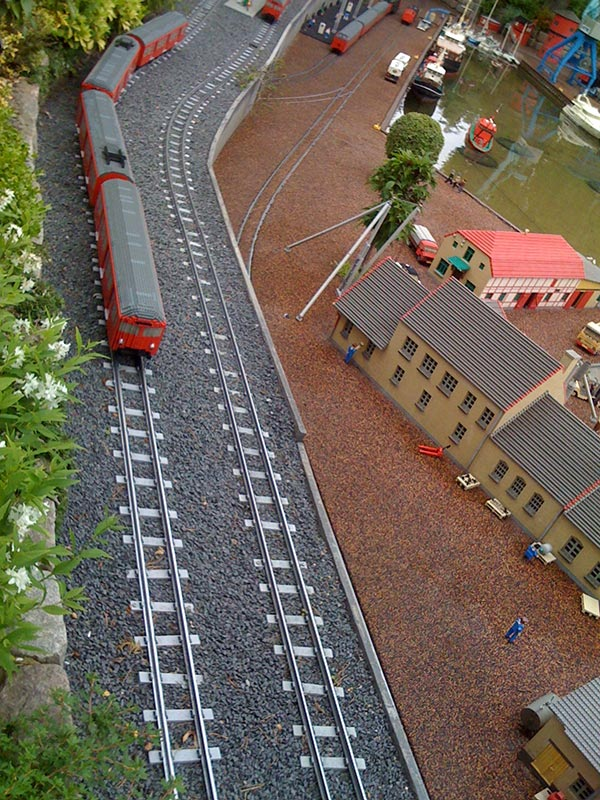 lego train real versus virtual