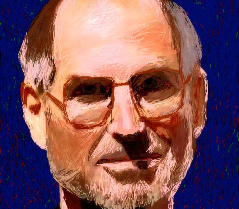 steve jobs ipad drawing dinisguarda