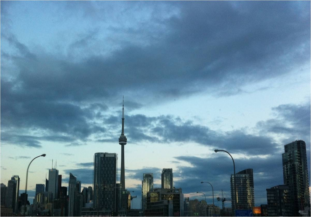 Toronto Skyline Photo Dinis Guarda