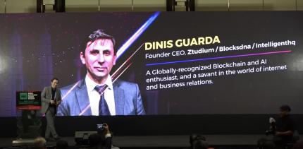 Dinis Guarda, Keynote speech in the World Blockchain Summit, Kuala Lumpur Malaysia