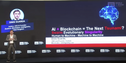 Dinis Guarda - KEYNOTE at World AI Show Mumbai - 2018