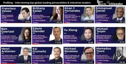 Dinis Guarda Youtube / Podcast - Profiling - interviewing top global leading personalities & industries leaders